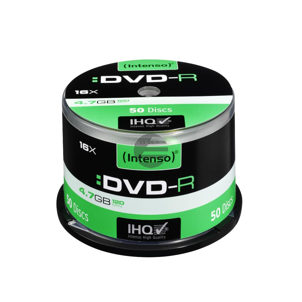 INTENSO DVD-R 4.7GB 16x (50) CB 4101155 Cake Box