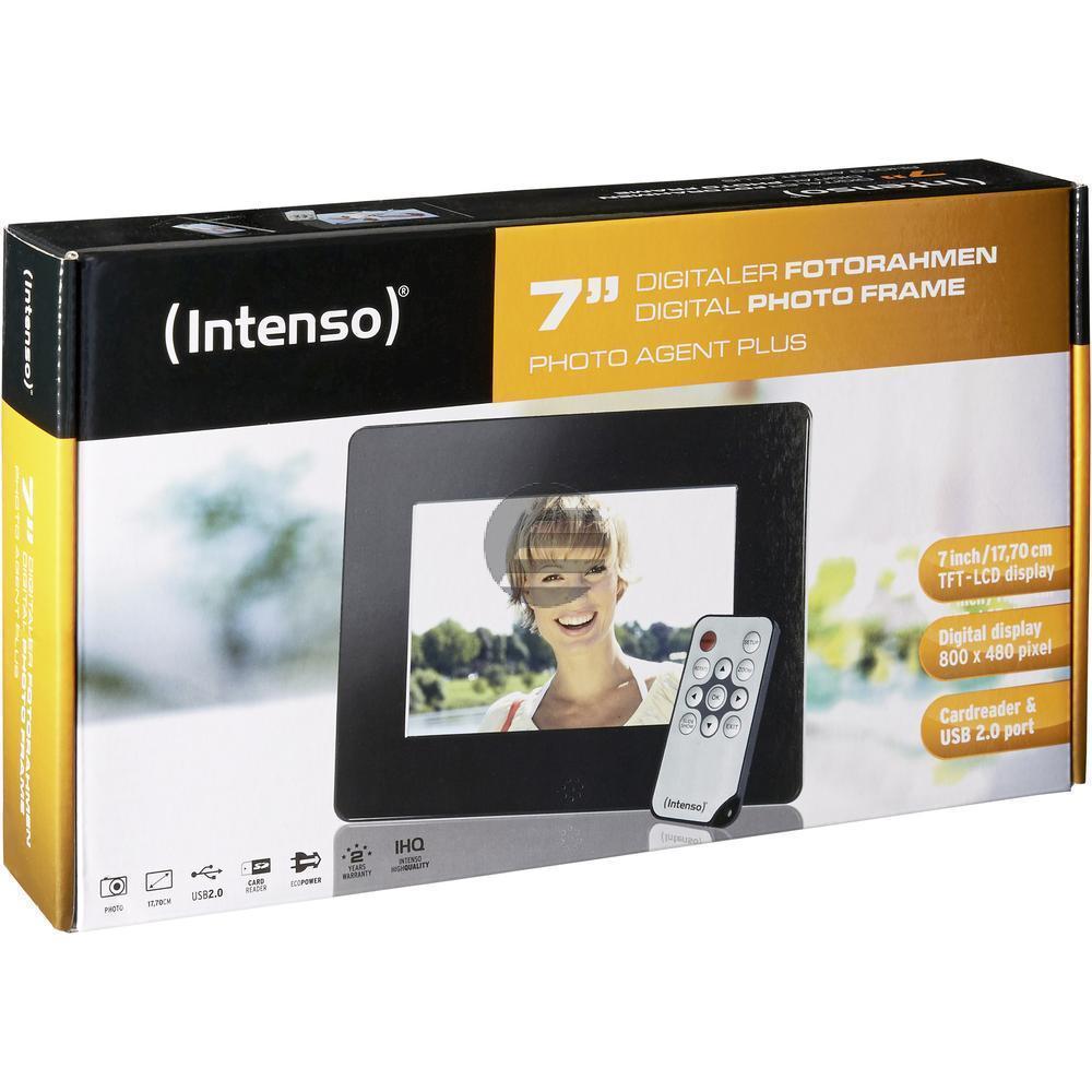 INTENSO DIGITALER BILDERRAHMEN 7 SLIM 3906801 800x480 PHOTO AGENTPLUS 16:9