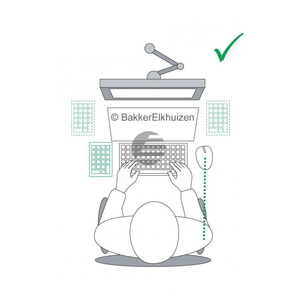 BNEGTBNUM BAKKER NUMERISCH TASTATUR DE fuer Goldtouch V2