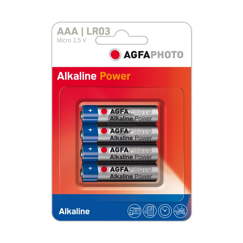 110-802572 AP MICRO BATTERIEN (4) LR03 High Quality Alkaline AAA