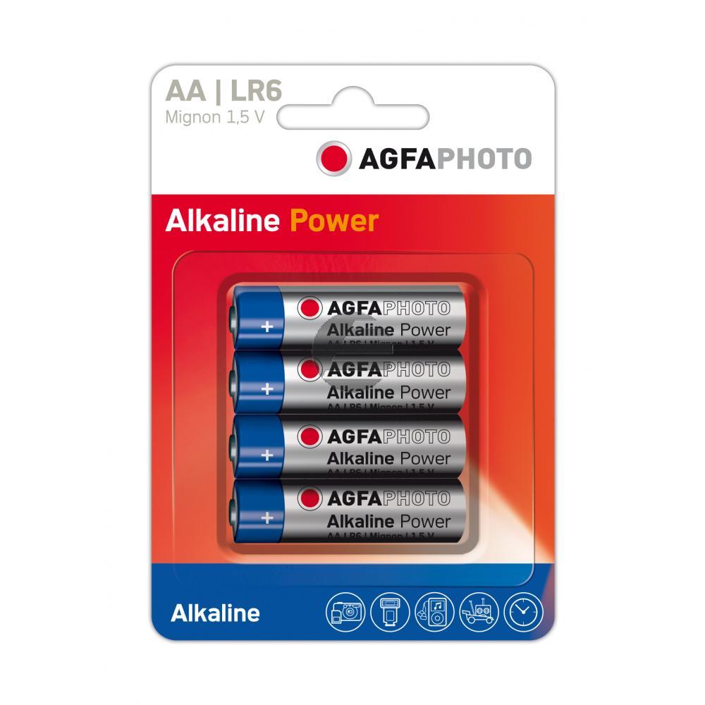 110-802589 AP MIGNON BATTERIEN (4) LR6 HighQuality Alkaline AA
