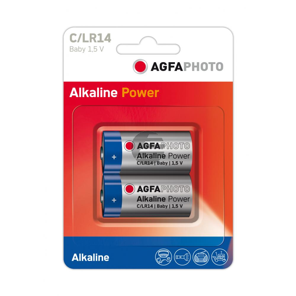 110-802626 AP BABY C BATTERIEN (2) LR14 High Quality Alkaline
