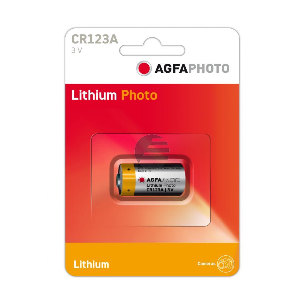 120-802633 AP LITHIUM BATTERIE CR123A lithium photo 3V