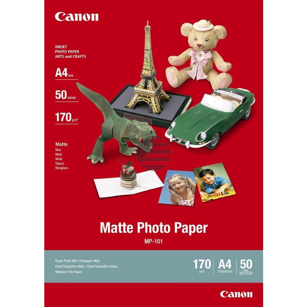 Canon Fotopapier matt 40 Blatt DIN A3 170 g/m² (7981A008)