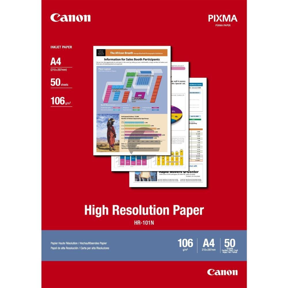 Canon Normalpapier weiß 50 Blatt DIN A4 106 g/m² (1033A002)