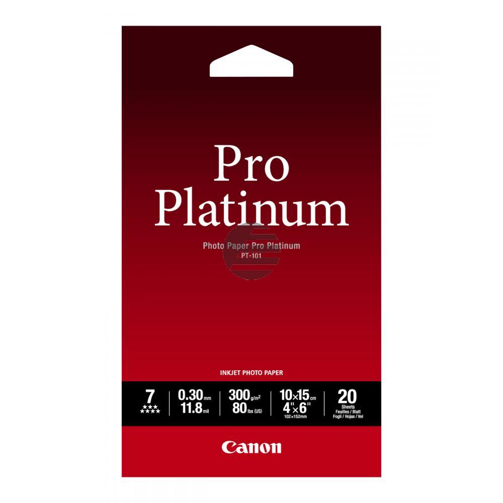 Canon Fotopapier 20 Blatt 10 x 15 cm 300 g/m² (2768B013)