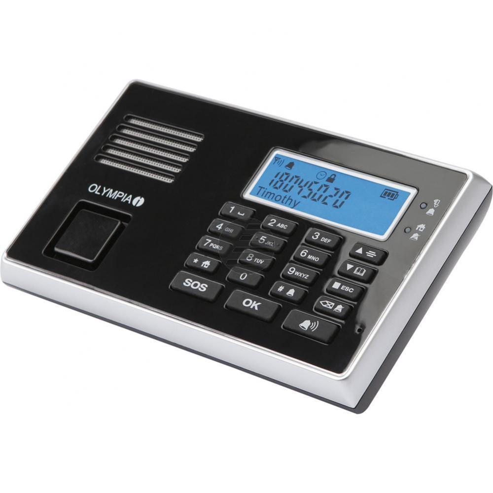 OLYMPIA ALARMANLAGE PROTECT 9030 GSM 5903 Notruf-/Freisprechfunktion drahtlos