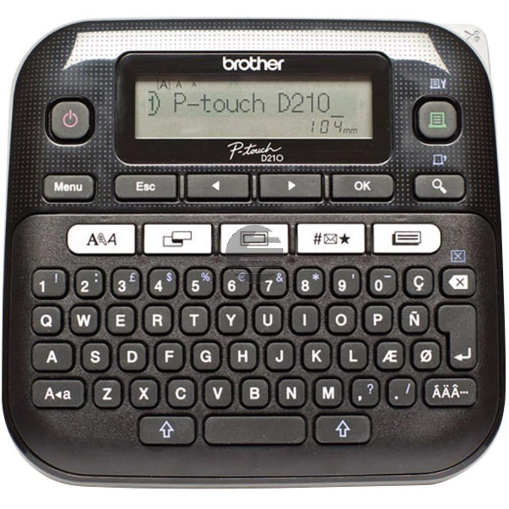 Brother P-Touch D 210 (PTD210ZG1)