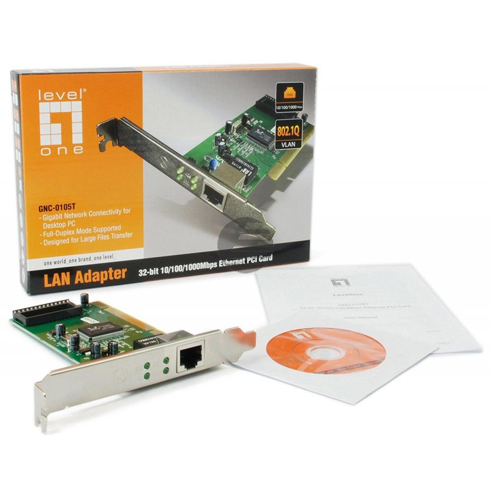 Netzwerkkarte PCi 10/100/1000 32BIT