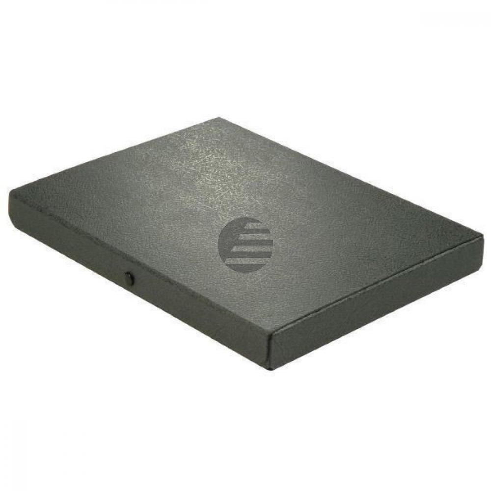 Elba Dokumentenbox schwarz Hartpappe Inh.280 Blatt 315 x 240 x 35mm