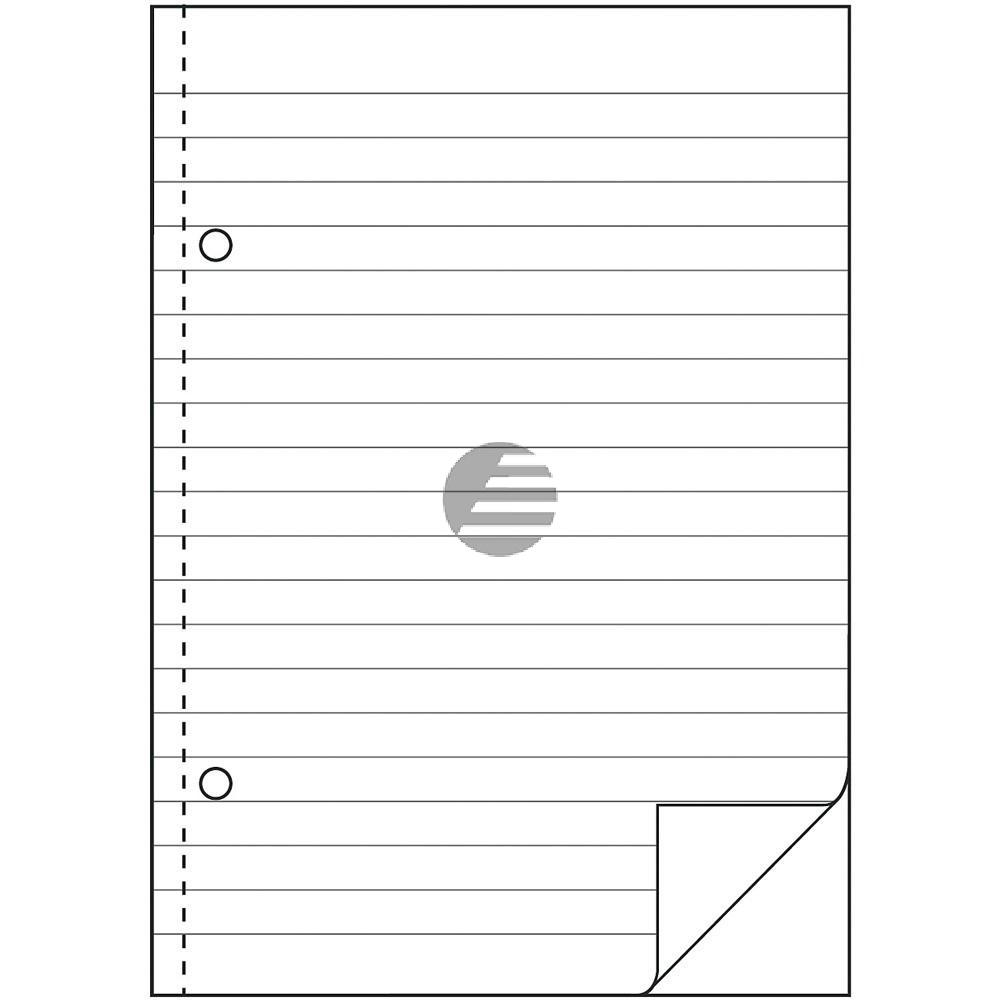 AZ Durchschreibebuch 903 A6 quer weiß liniert Inh.2 x 50 Blatt Avery Zweckform