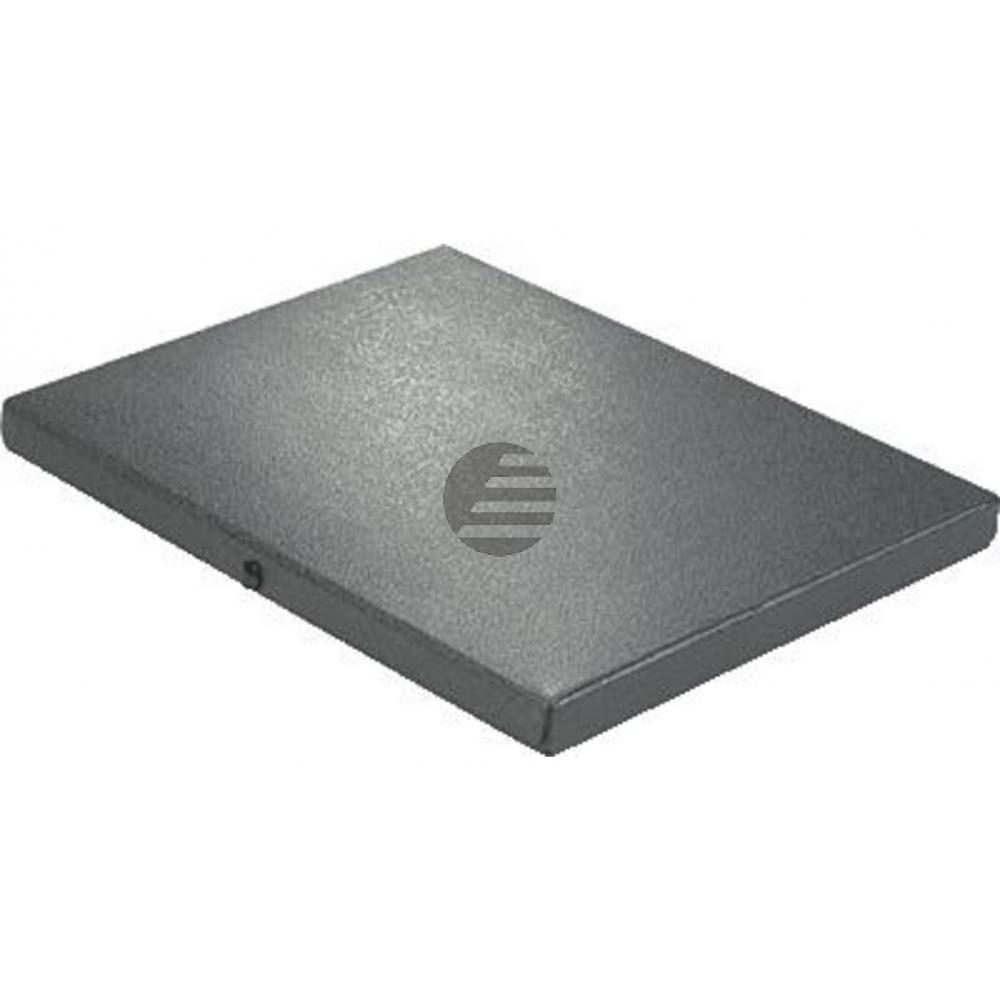 Elba Dokumentenbox schwarz Hartpappe Inh.180 Blatt 315 x 240 x 25mm