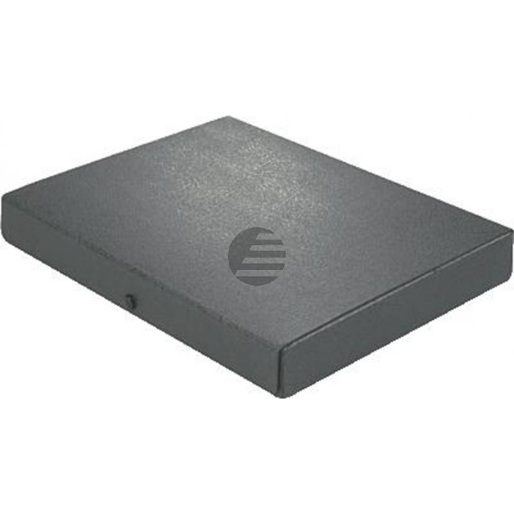 Elba Dokumentenbox schwarz Hartpappe Inh.380 Blatt 315 x 240 x 45mm