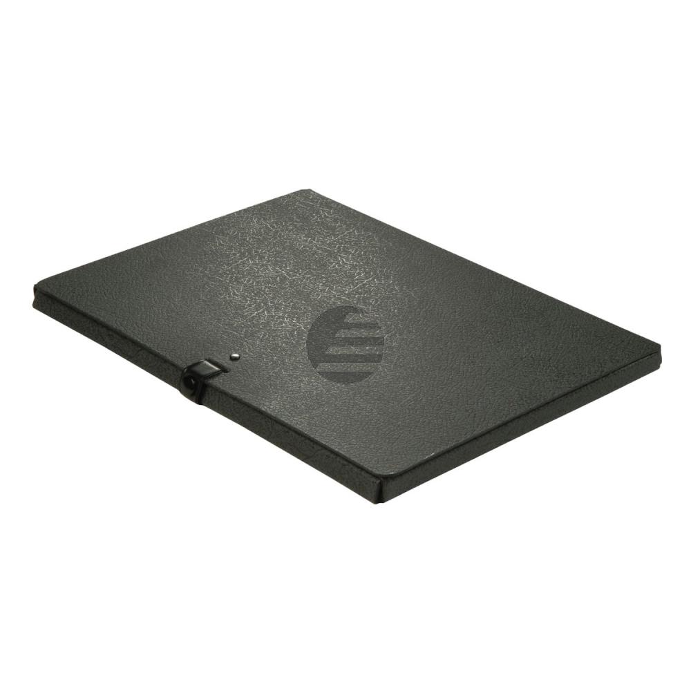 Elba Dokumentenbox schwarz Hartpappe Inh.80 Blatt 315 x 240 x 15mm