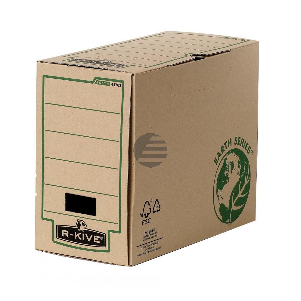 Fellowes Archivbox R-Kive Earth Series Natur 150 x 255 x 315 mm