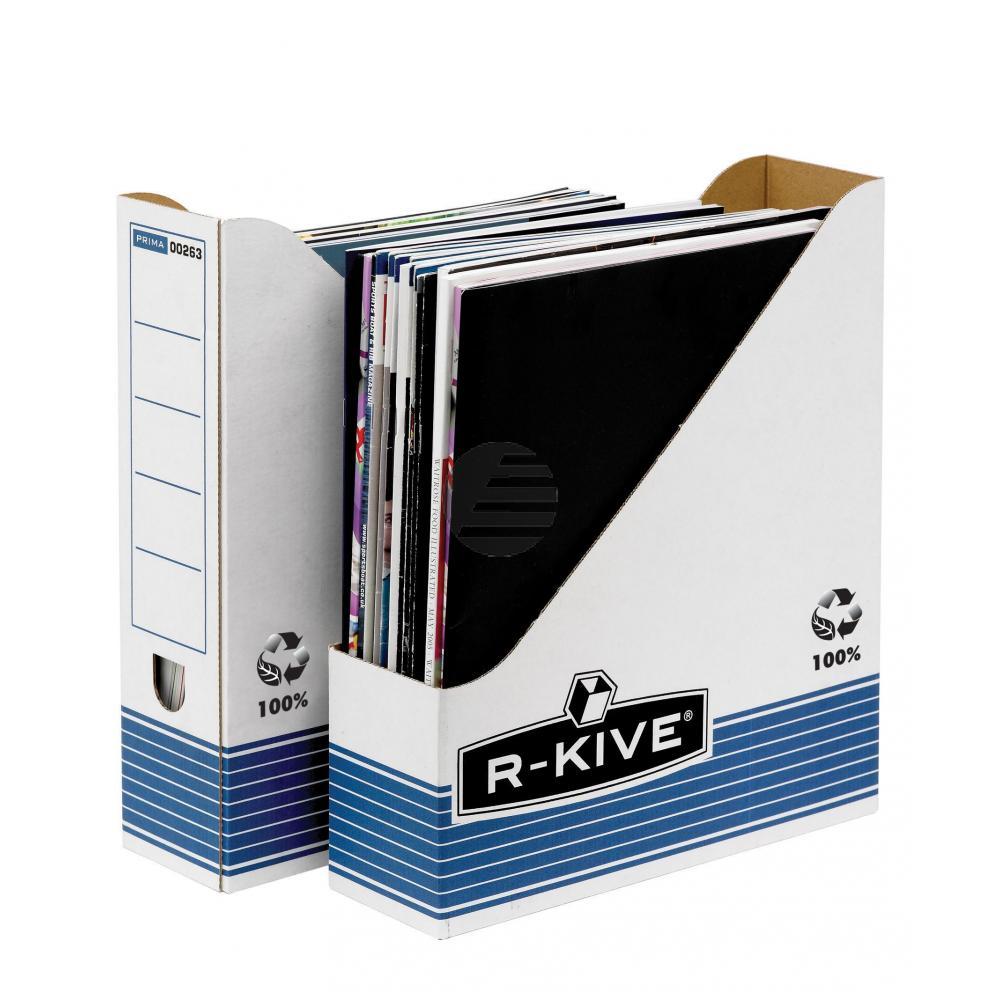 Fellowes Stehsammler R-Kive Prima blau/weiß 80 x 312 x 259 mm
