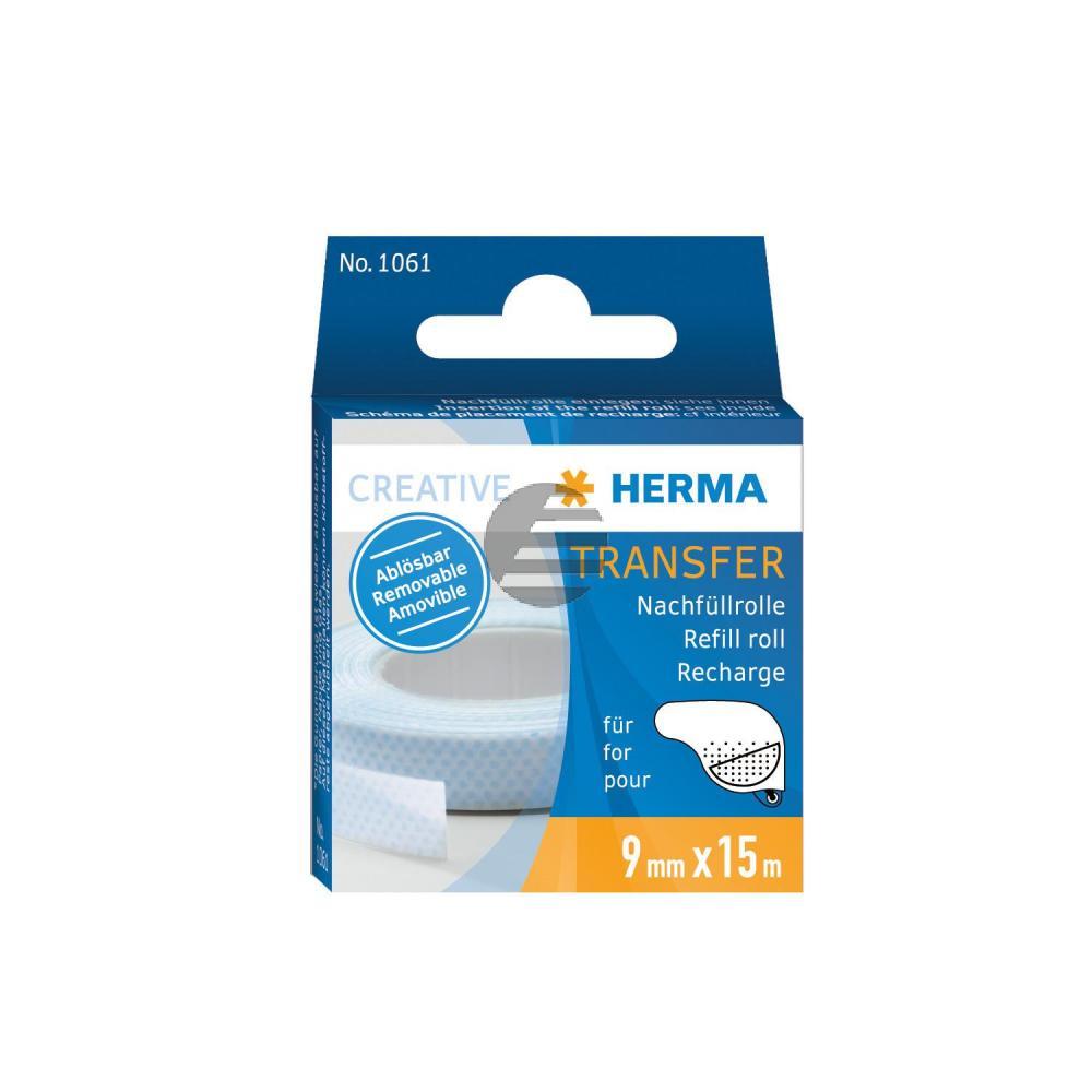 Herma Nachfüllkassette für Klebespender ablösbar 15MX8mm