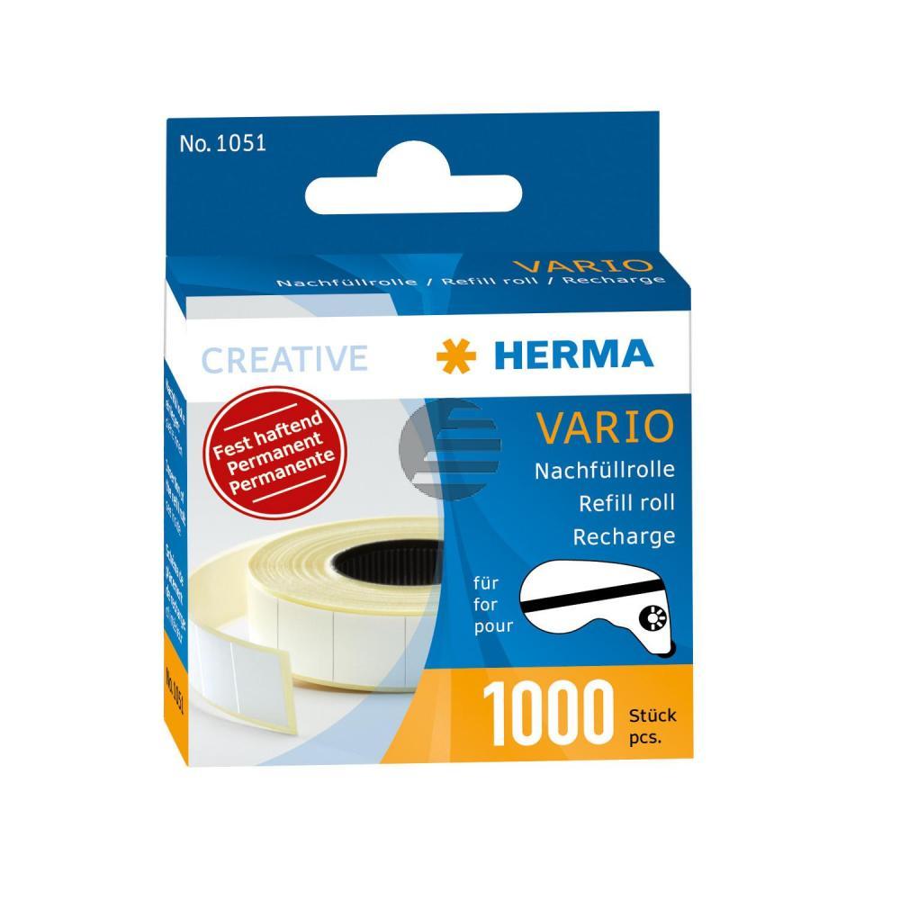 Herma Nachfüllrolle Vario Inh.1000 Klebestücke