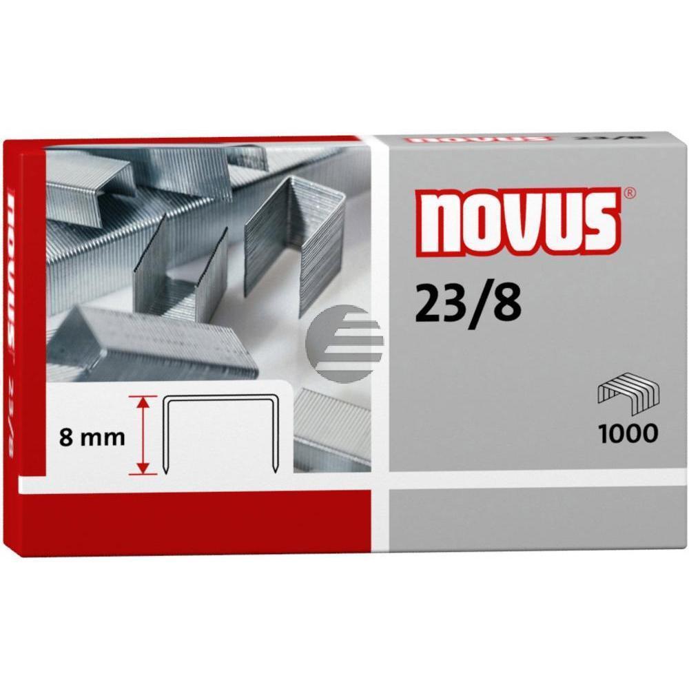 Novus Heftklammern 23/8 Inh.1000