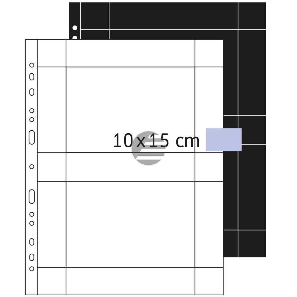 Herma Fotosichthüllen weiß 100 x 150 mm quer Inh.250 Hüllen