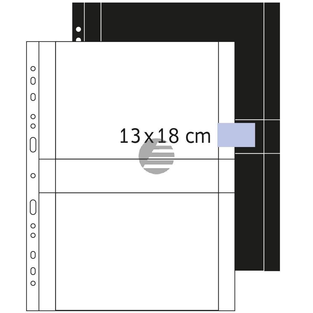 Herma Fotosichthüllen weiß 130 x 180 mm quer Inh.250 Hüllen