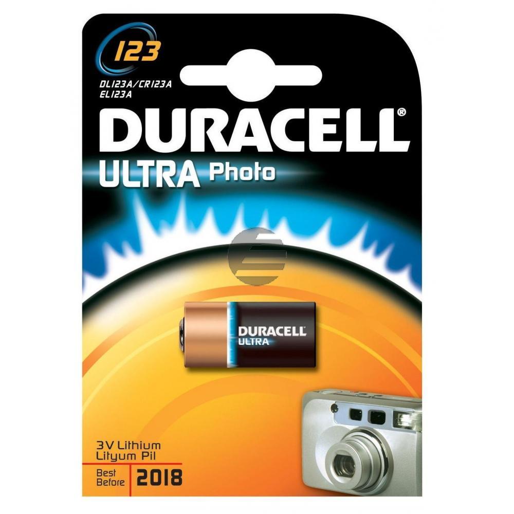 Duracell Foto-Batterie Ultra CR123