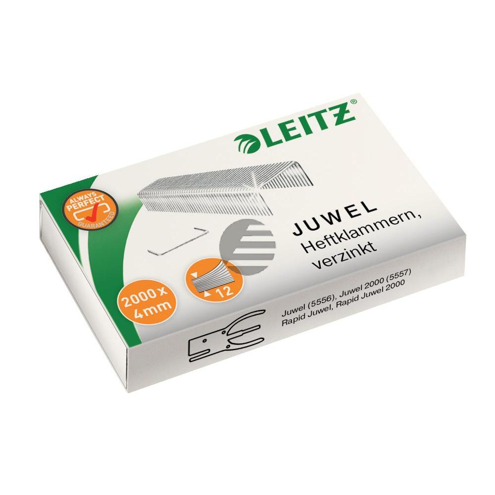 Leitz Heftklammern 6/4 Juwel verzinkt Inh.2000