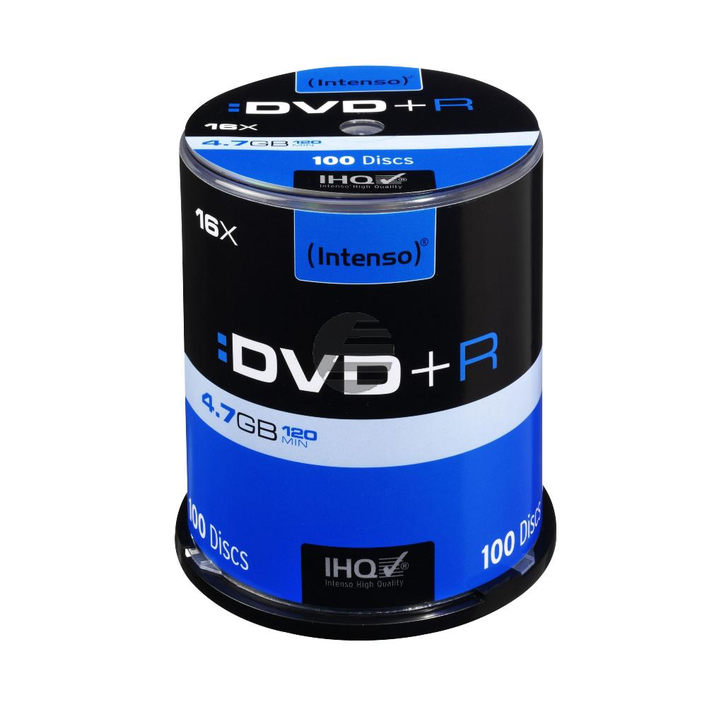 Intenso DVD+R 4,7 GB 16 x (100 Spindel