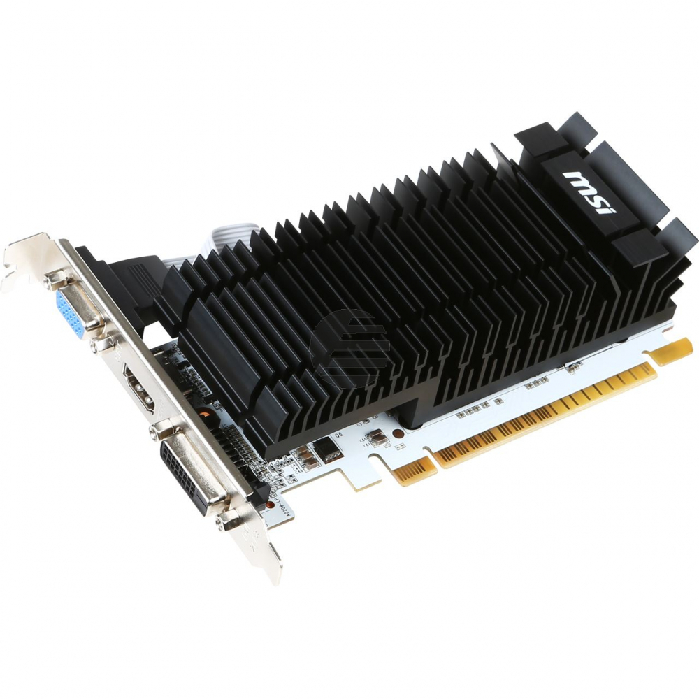 msi GeForce GT 730 2 GB DDR3 PCI-Express x16 DVI HDMI passiv