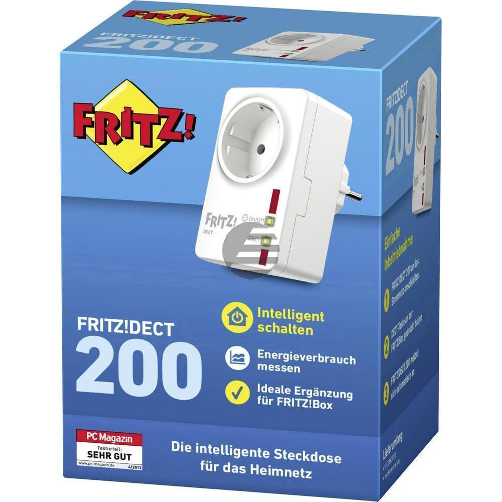 AVM Fritz!DECT 200 DECT-Funksteckdose Steckdose