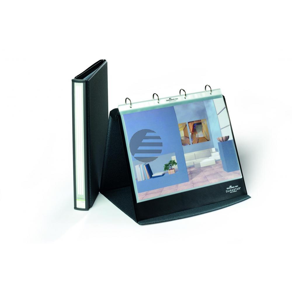 Durable Tisch-Flipchart A4 Durastar quer Basalt