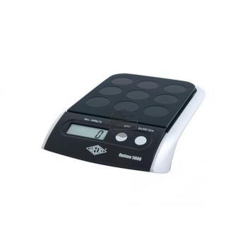 WEDO Digitalwaage Optimo 5000 485001 Tragkraft bis 5kg 23x4x16cm