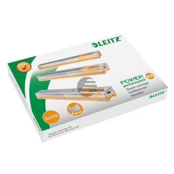 LEITZ Heftklammer-Kassette K8 4mm 55920000 gelb, Schachtel à 1050 Stk.