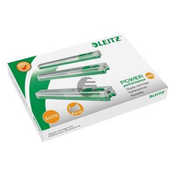 LEITZ Heftklammer-Kassette K10 5.5mm 55930000 grün, Schachtel à 1050 Stk.