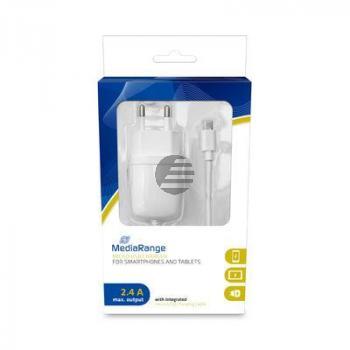 MEDIARANGE KFZ-LADEGERAET 2.1A MRMA102-02 1.0A Ladestrom mit Micro USB
