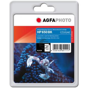Agfaphoto Tintenpatrone schwarz (APHP650B) ersetzt 650