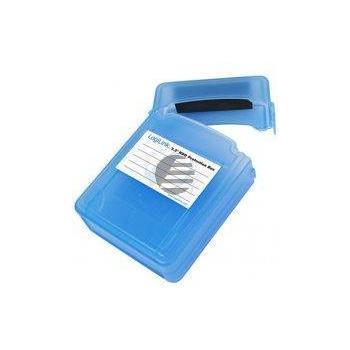 LogiLink Festplatten Schutz-Box für 2x 2,5'' HDDs