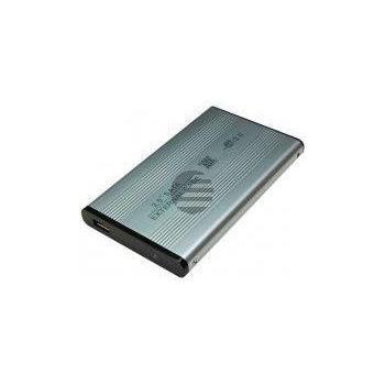 LogiLink Festplattengehäuse 2,5 Zoll S-ATA USB 2.0 Alu