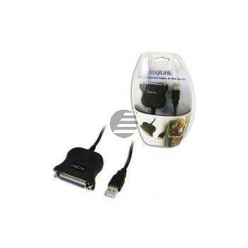 LogiLink Adapter USB to DSUB-25 Kabel