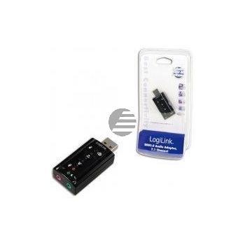 LogiLink USB Soundkarte mit Virtual 7.1 Soundeffekt