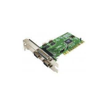 LogiLink PCI Schnittstellenkarte Parallel 1x + Seriell 2x