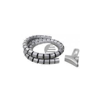 LogiLink Spiralschlauch Kabelbinder, 1,50 m