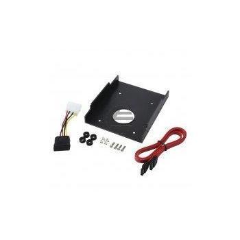 LogiLink Plastic Harddisk Mounting Bracket, Shockproof, for 2.5'' to 3.5''