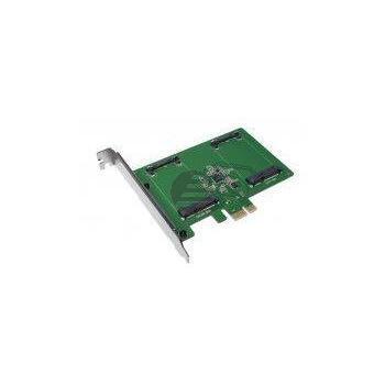 LogiLink PCI-Express Card, 2x mSATA SSD slots