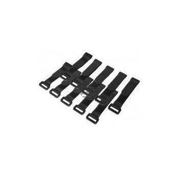 LogiLink Kabelbinder mit Klettverschluss, 10 Stk., schwarz