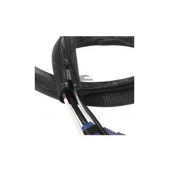 Logilink Flexibler Kabelschutz mit Reißverschluss