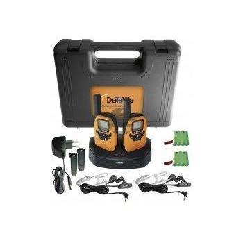 DeTeWe Outdoor 8000 (DUO-Case), 2 PMR Funkgeräte, IPX2 Standard