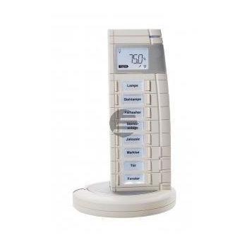 eQ-3 HomeMatic Funk-Fernbedienung 19 Tasten inkl. Ladeschale - weiß