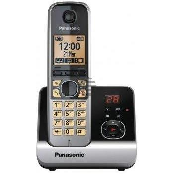 Panasonic KX-TG6761GB schwarz (Set KX-TG 6721GB + Repeater)