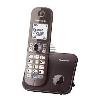Panasonic KX-TG6811GA, mocca-braun